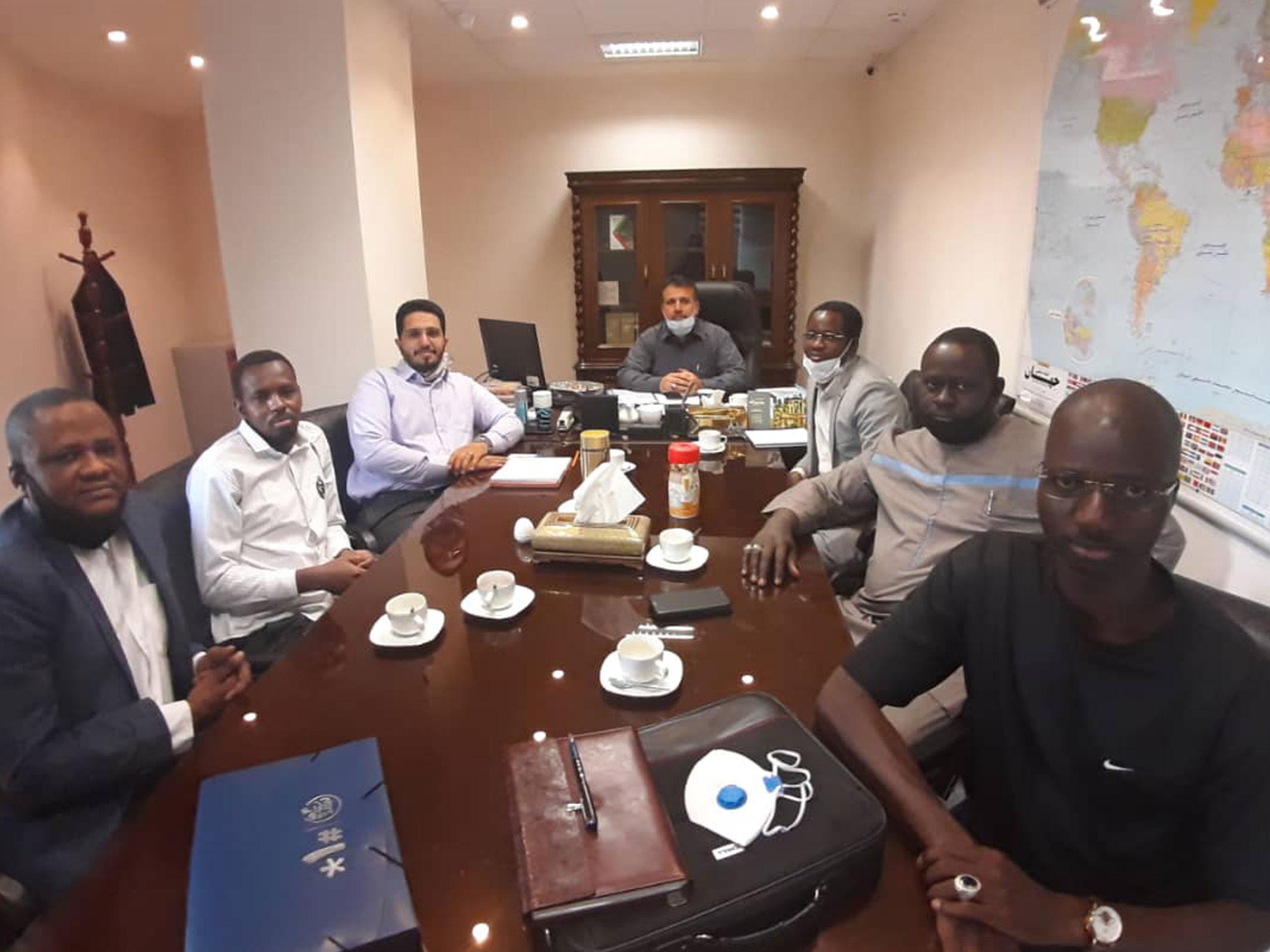 نشست با هیئت تجاری آفریقا