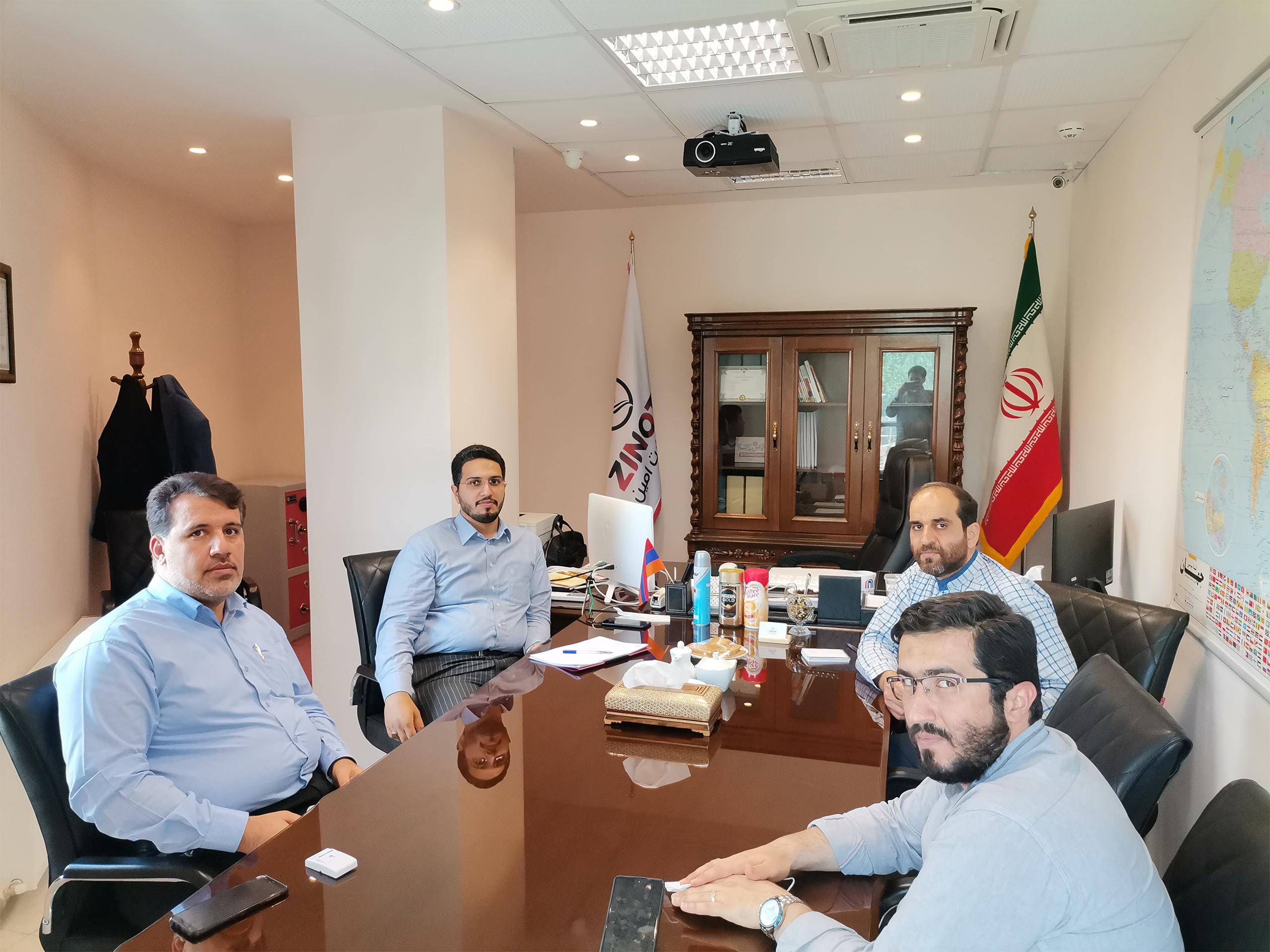نشست با جناب آقای کریمی سرکنسولگری ایران در کربلا