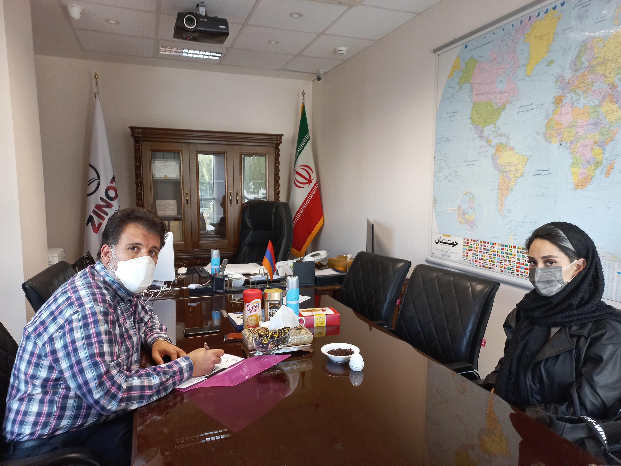 نشست با خانم رحیمی نماینده شرکت تولیدی قصر بازی پارسیان